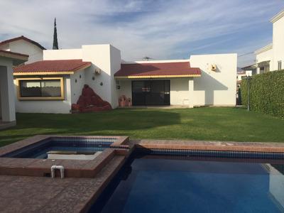 Casa Sola En Venta En Lomas De Cocoyoc
