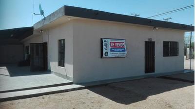 Venta Casa Con Terreno Grande En Área Industrial Mexicali