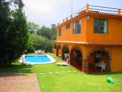 Casa Con Alberca Privada, Oaxtepec Morelos