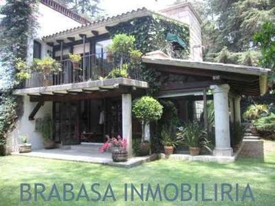 Casa En Condominio En San Bartolo Ameyalco, Fracc. Tenis San