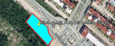 Terreno En Playa Del Carmen Centro, Avenida Xel - Ha