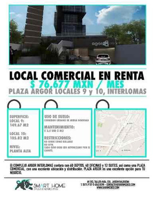 Sh64 . Local En Plaza Comercial En Interlomas
