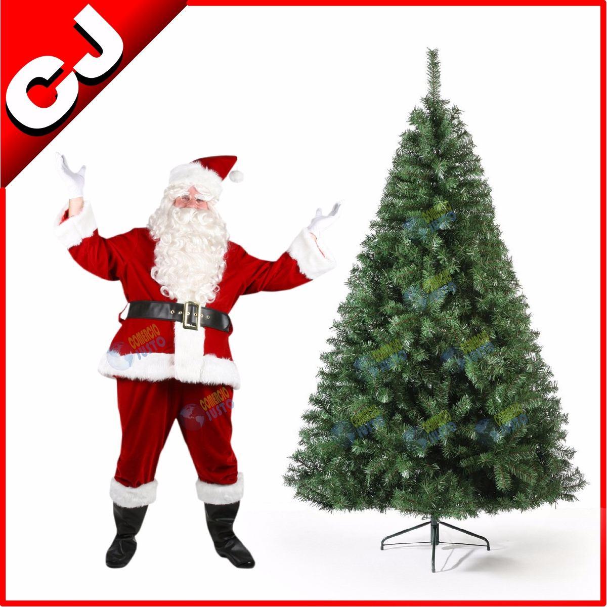 Arbol de navidad 220 verde canadiense pino artificial - Arboles de navidad precios ...