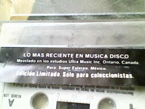 audio cassette studio profesional mix 87 y medio