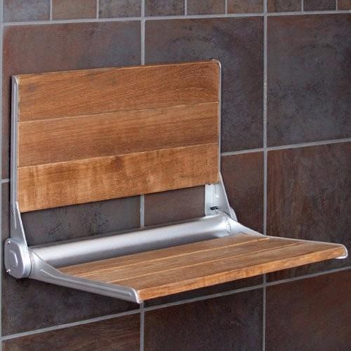Banco asiento plegable con respaldo para ba o ducha for Regadera de bano precio