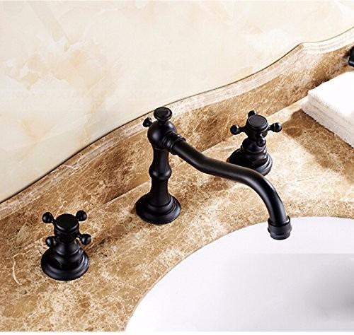 Griferia Para Baño En Mercado Libre: Para Baño Grifo Lavabo Estilo Antiguo Bronce – $ 2,09895 en Mercado