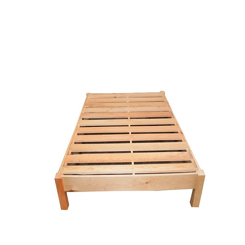 Base cama matrimonial madera minimalista recamara for Base para cama matrimonial minimalista
