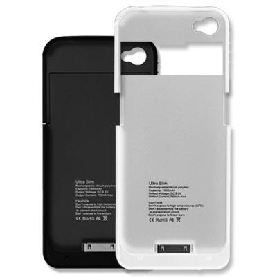 Bateria externa cargador funda protector iphone 4 4s 2500mah en mercado libre - Funda bateria iphone 5c ...