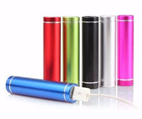 bateria externa powerbank  2600 mah para ipod iphone galaxy