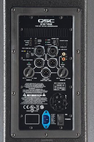 bocina amplificada qsc kw152 1000 wats