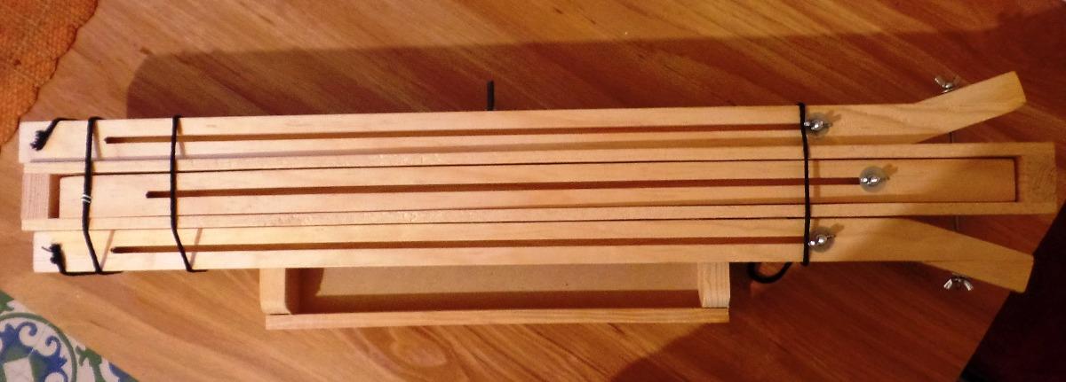 Caballete de campo ajustable y plegable de madera para - Caballete de mesa ...