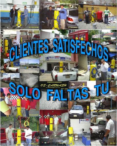 car wash, autolavado, hidrolavadora, espuma activa