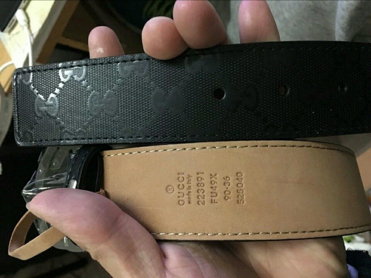 cinturones gucci y louis vuitton 65bc46d6343f