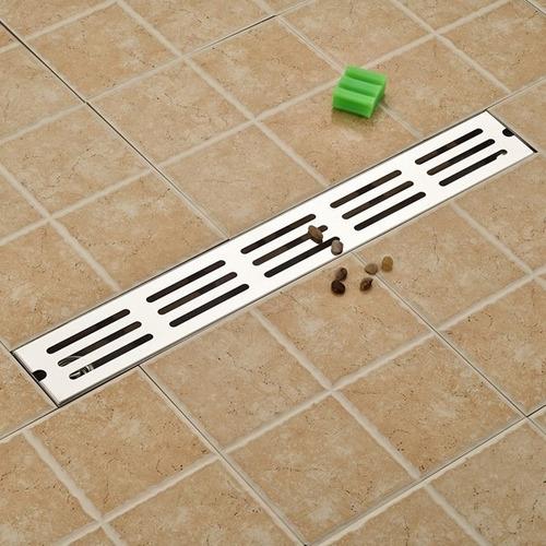 Coladera moderna lineal de reja 70 cm laton ba o regadera for Regadera de bano precio