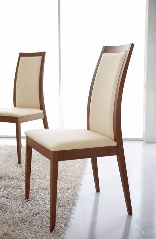 Comedor y sillas de madera cubierta cristal 4 personas for Sillas cristal