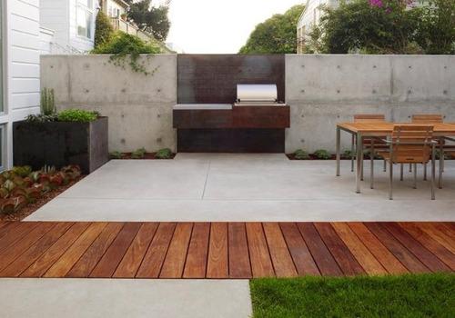Deck de cumaru piso de madera para exterior peruano for Precios de pisos para exteriores