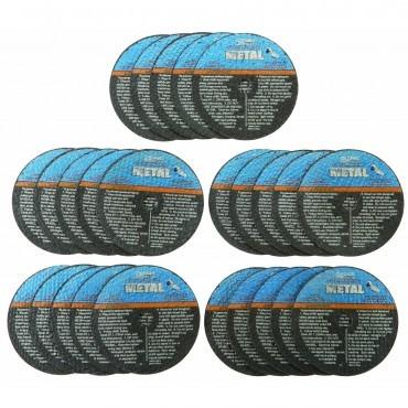 discos de 3pulgadas para corte de metal (paquete con 25)