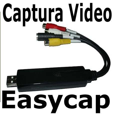 easycap tarjeta capturadora usb 2.0 rca s-video audio video
