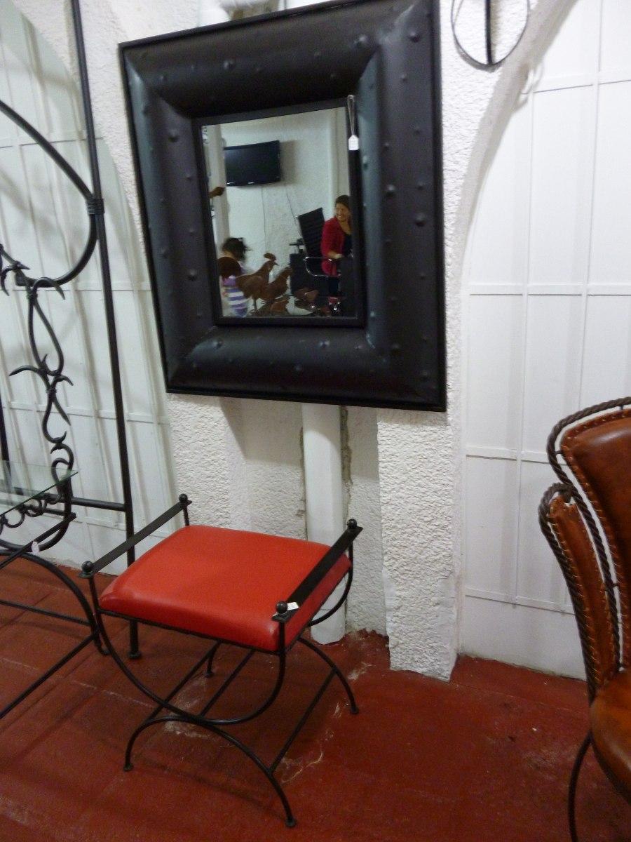 Espejos decorativos de metal 1 en mercado libre for Espejos decorativos alargados