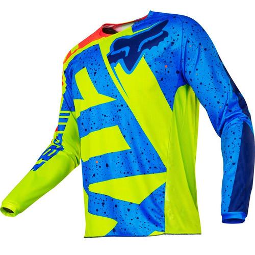 Jersey Fox 180 Nirv Amarillo Talla Xl Motocross Mtb Downhill - $ 850