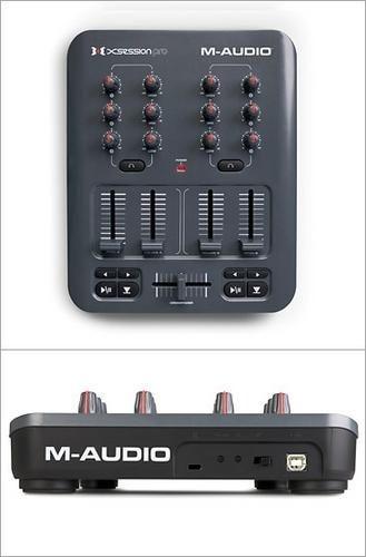 m-audio torq mixlab x-session pro dj controlador de software