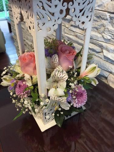 Paq 3 piezas quinque lampara centro de mesa boda 280 - Centros de mesa para bodas precios ...