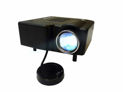 mini proyector led hd 40 lumenes portatil kaleidos star view