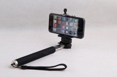 monopod selfi, brazo para cámara, celular, iphone, samsung