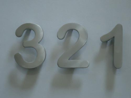 numero de aluminio arial rounded 14 cm