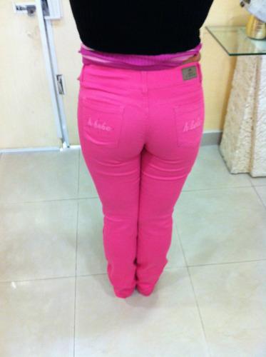 pantalones de panilla mujer stretch marca bebe bellow