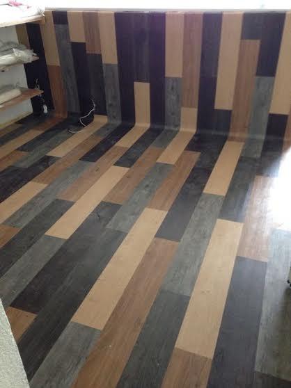 Piso pvc vinilico tipo madera texturizado resistente al Tipos de pisos de madera