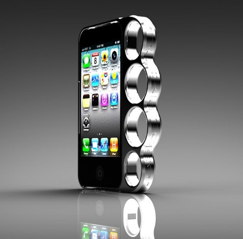 protector knuckle case para iphone 5