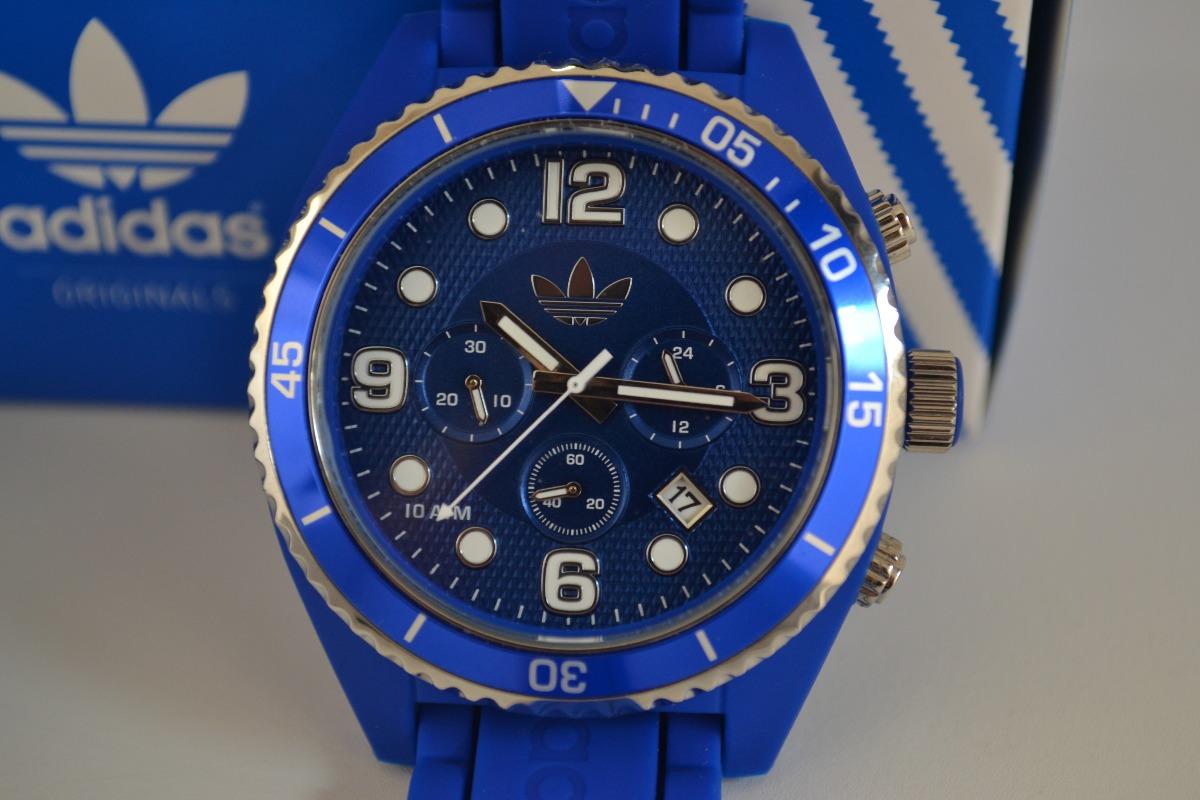 pesado Recurso Ministerio  adidas reloj azul