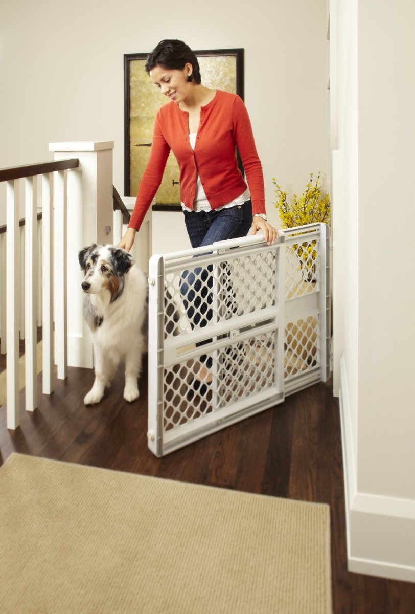 Reja puerta de seguridad north states para bebe o mascotas - Puertas seguridad bebes ...