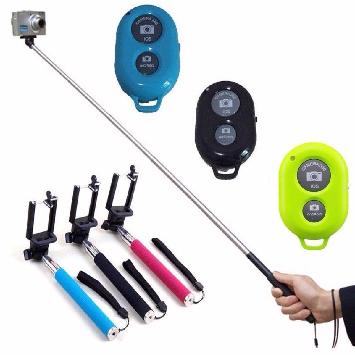 selfie stick baston selfie monopod control bluetooth iphone en mercado libre. Black Bedroom Furniture Sets. Home Design Ideas
