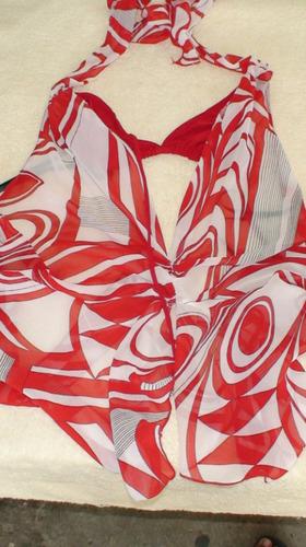 sexy blusa roja importada
