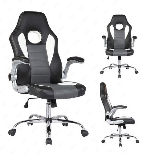 Silla ejecutiva piel para escritorio y gamers 2 - Cuero para tapizar sillas ...