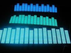 sticker panel ecualizador luminoso audiorítmico high quality