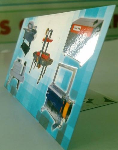 tarjetas de presentación laminado mate, a color fte. y vta.