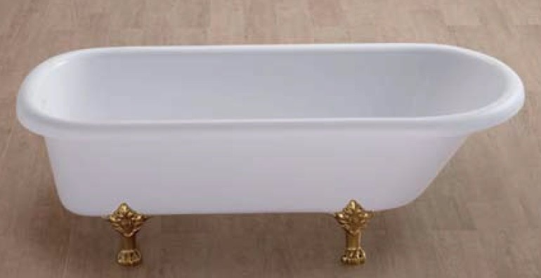 Tinas De Baño Vintage:Tina De Baño Estilo Antigua Marfil Vintage Sin Hidromasaje – $ 28,710