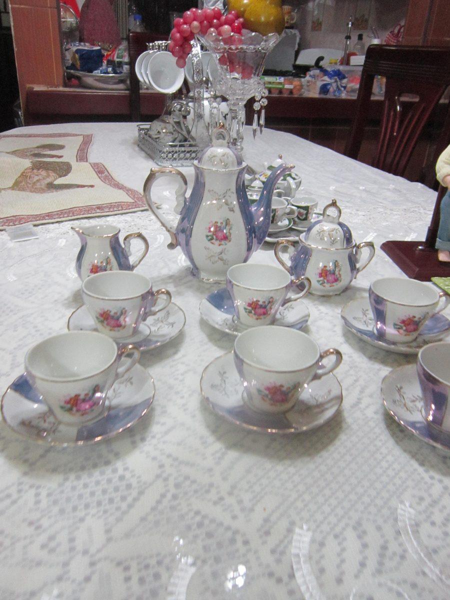 Vajilla de porcelana vintage de los 60 completa 1 700 for Vajilla porcelana