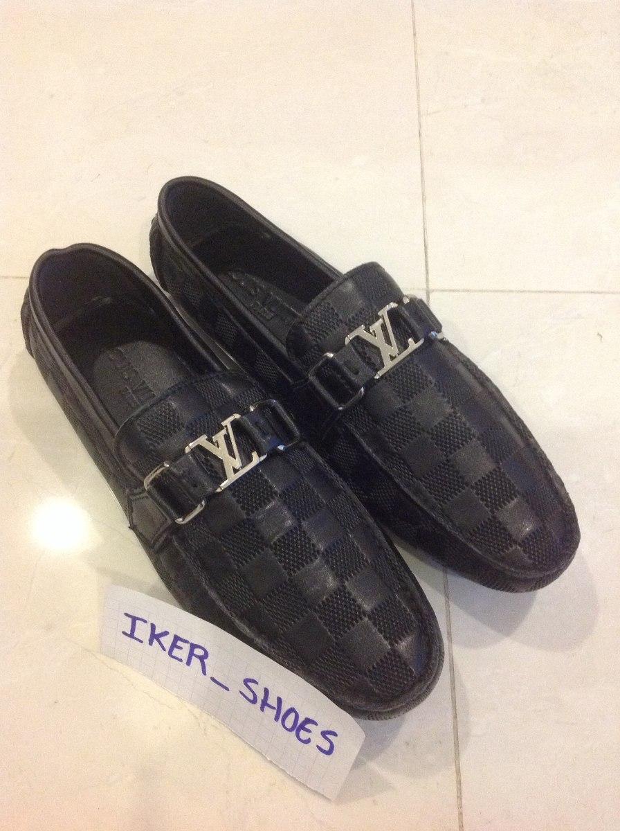 ec8580d85 Zapatos Mocasines Louis Vuitton Gucci Ferragamo - $ 3,299.00 en Mercado  Libre